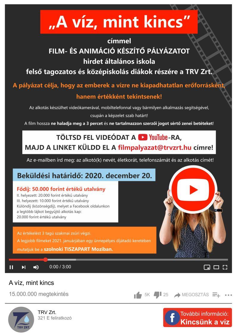 Trv Zrt. tájékoztatója