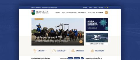 Elindult az új hortobagy.hu weboldal