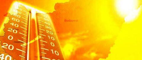 III. fokú hőségriasztás elrendelése