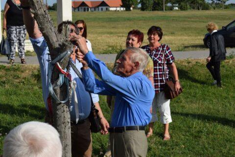Káplár Miklós Hortobágyi Nemzetközi Alkotótábor megnyitója