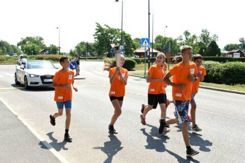 EYOF - Fáklya futás 2017