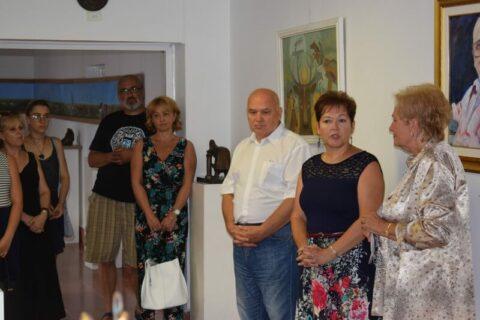 Káplár Miklós Hortobágyi Nemzetközi Alkotótábor megnyitó 2017